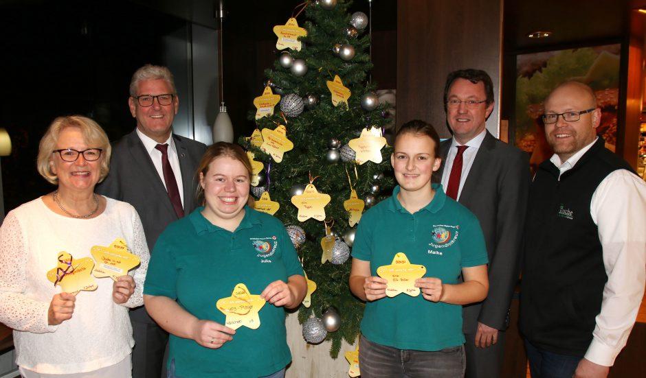 Jugendrotkreuz startet Weihnachtsgeschenkaktion – jetzt Sterne abholen!