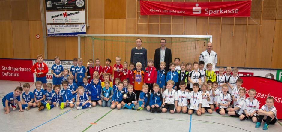 Stadtsparkasse unterstützt Fußball-Minis bei den Stadtmeisterschaften